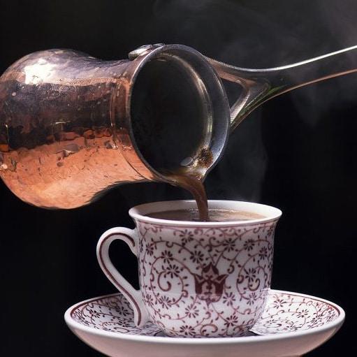 cezve et tasse café turc